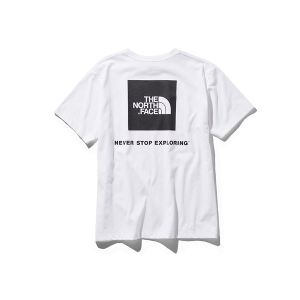 ザ・ノースフェイス THE NORTH FACE  S/S SQUARE LOGO TEE NT31957-w S/S スクエアロゴティー|m-bros