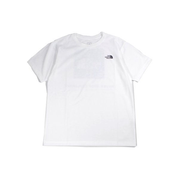 ザ・ノースフェイス THE NORTH FACE  S/S SQUARE LOGO TEE NT31957-w S/S スクエアロゴティー|m-bros|02