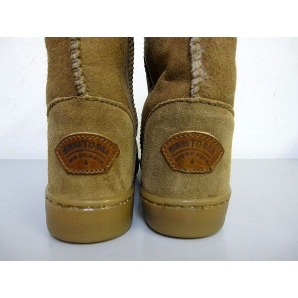 MINNETONKA Short Sheepskin Pug Boot 3571|m-bros|03