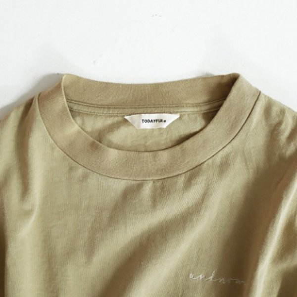 TODAYFUL LIFE's Lettering Long T-Shirts  トウディフル ライフズ トップス カットソー ロゴ ロンT 11910617 m-i-e 02
