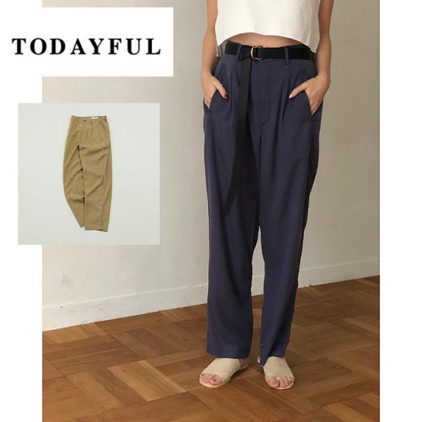 TODAYFUL  LIFE's   Tapered Rough Pants11910732 トゥデイフル ライフズ|m-i-e