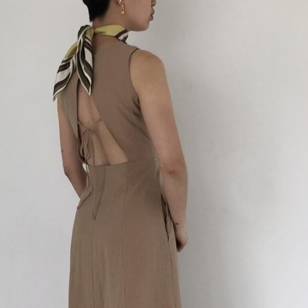 TODAYFUL LIFE's トゥデイフル ライフズ Back Open Tie  Dress 11920312 m-i-e 03