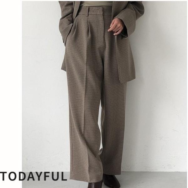 TODAYFUL LIFE'S Centerpress Trousers   11920705 m-i-e