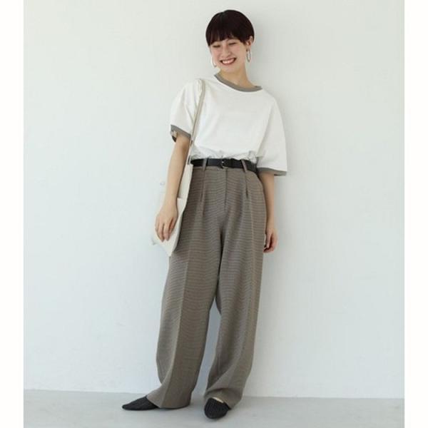 TODAYFUL LIFE'S Centerpress Trousers   11920705 m-i-e 05
