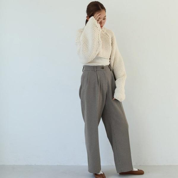 TODAYFUL LIFE'S Centerpress Trousers   11920705 m-i-e 06