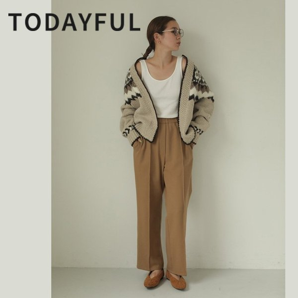 TODAYFUL LIFE'S Stretch Trousers 11920716 m-i-e