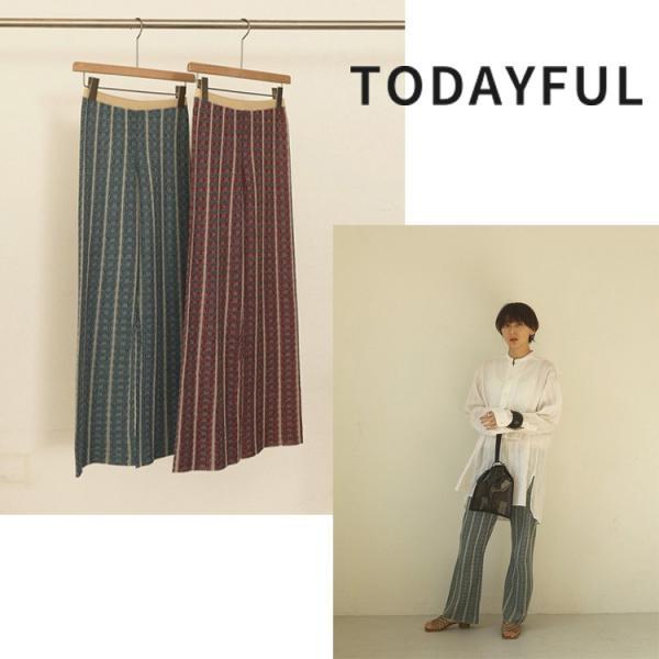 TODAYFUL LIFE's Jacquard Knit Leggings 12010720|m-i-e