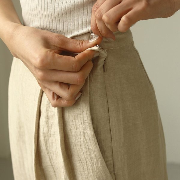 TODAYFUL LIFE's Delave Linen Trousers 12010726|m-i-e|02