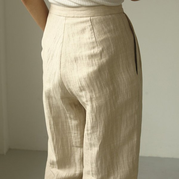 TODAYFUL LIFE's Delave Linen Trousers 12010726|m-i-e|03