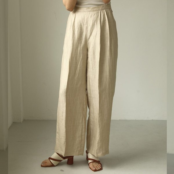 TODAYFUL LIFE's Delave Linen Trousers 12010726|m-i-e|04