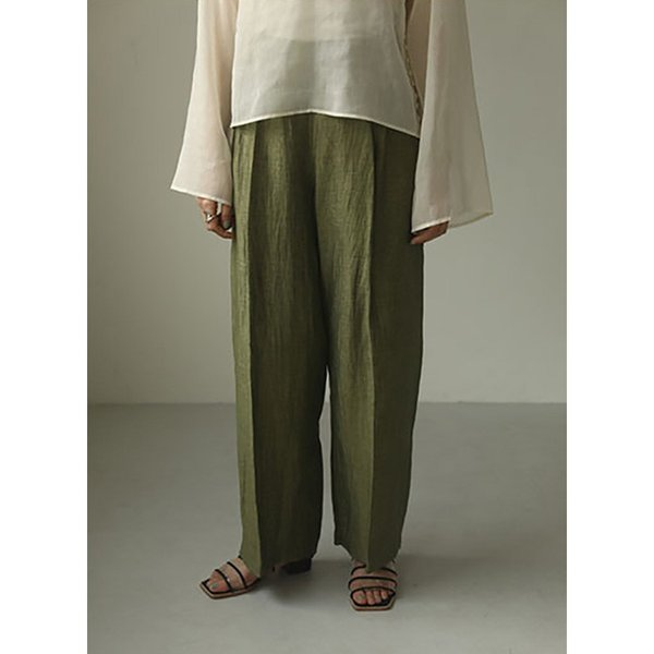 TODAYFUL LIFE's Delave Linen Trousers 12010726|m-i-e|06
