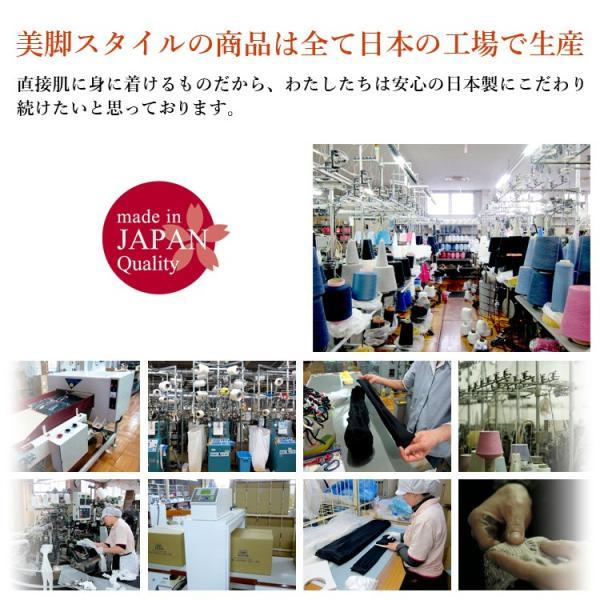 メール便送料無料 3足セット 日本製 5本指 着圧ハイソックス 靴下 レディース ファッション m-mall 14