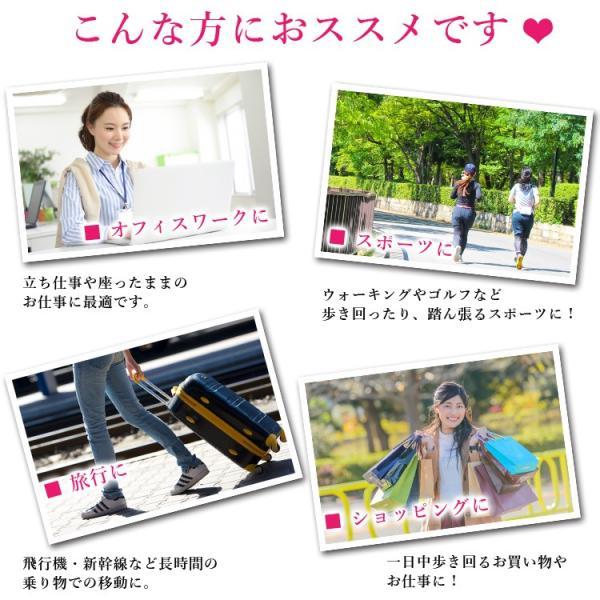 メール便送料無料 3足セット 日本製 5本指 着圧ハイソックス 靴下 レディース ファッション m-mall 03