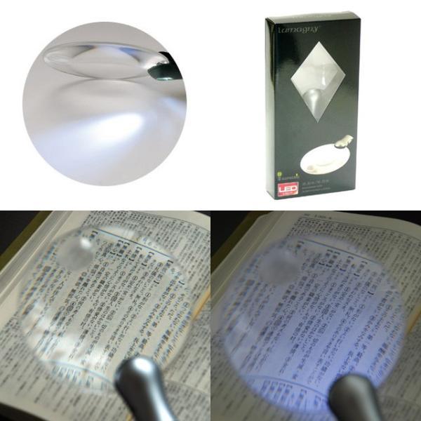 LEDライトルーペ9630(小玉付) 枠なし手持ちタイプ 光学機器|m-medical-net|02