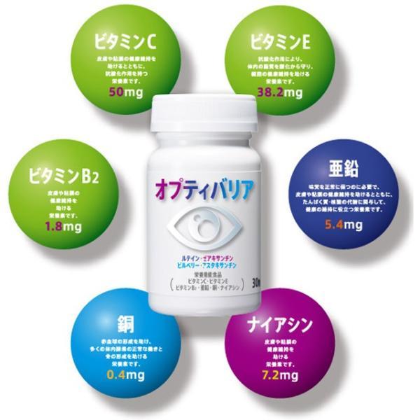 オプティバリア 3箱セット(約3ヶ月分) 目の健康が気になる方のサプリメント 栄養調整食品 m-medical-net 04