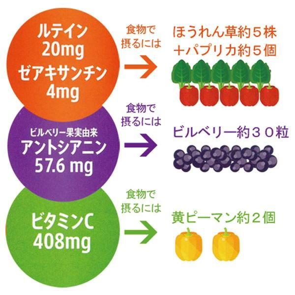 オプティバリアレチナサポート(180粒入り) 3箱セット 目の健康が気になる方のサプリメント 機能性表示食品|m-medical-net|03