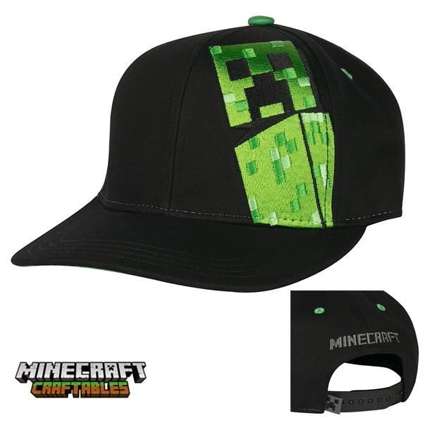マインクラフトスナップバックキャップ帽子クリーパー(正規品)