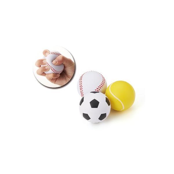 リラックスボール ストレスリリーサー 粗品 景品 記念品 販促 プレゼント 300個以上で御注文をお願いします 野球 サッカー テニス 選択可