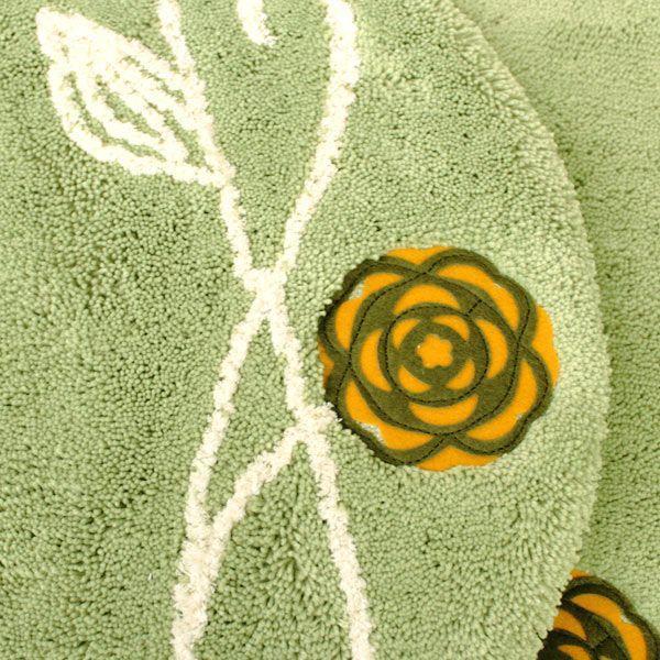 北欧 フタカバー  (洗浄暖房型・吸着シートタイプ)  エトフ  (北欧 トイレ おしゃれ トイレフタ 洗濯可 トイレ用品)  オカ|m-rug|03