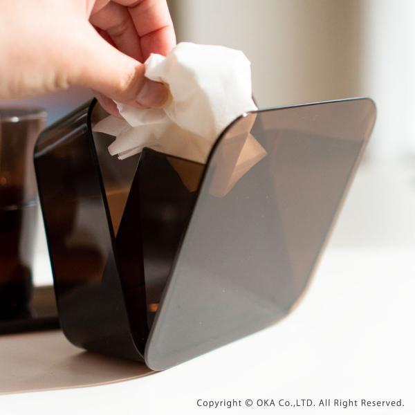 ゴミ箱 PLYS base (プリスベイス) 洗面ゴミ箱 小さい 壁 貼り付けられる マジックテープ クリア 小さめ グッドデザイン賞 m-rug 11
