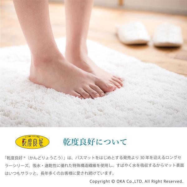 バスマット PLYS CARARACA (カララカ)  約35×60cm (タオル地 乾度良好 かんどりょうこう 洗える おしゃれ 吸水 速乾 無地 ふわふわ モダン)|m-rug|03
