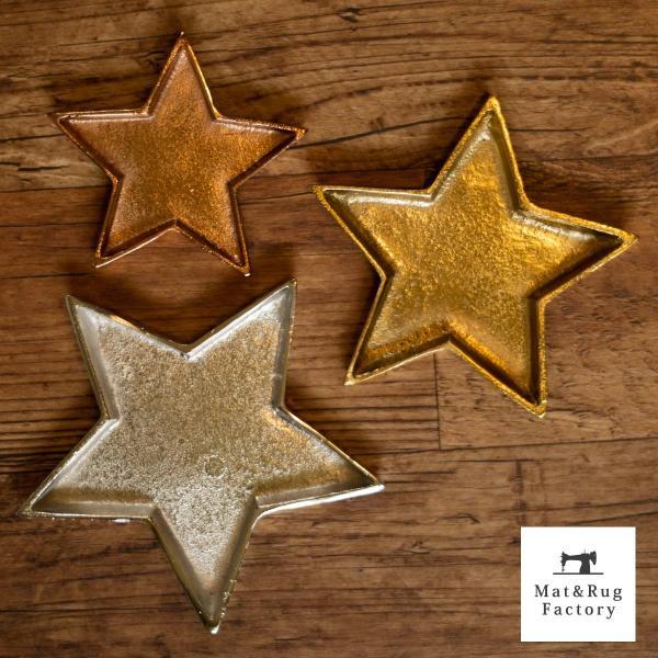 星型トレイ スタートレイ Sサイズ(トレイ 小物入れ 星型 スター 鍵 アクセサリートレイ インテリア 雑貨 かわいい アクセサリー) オカ|m-rug|04