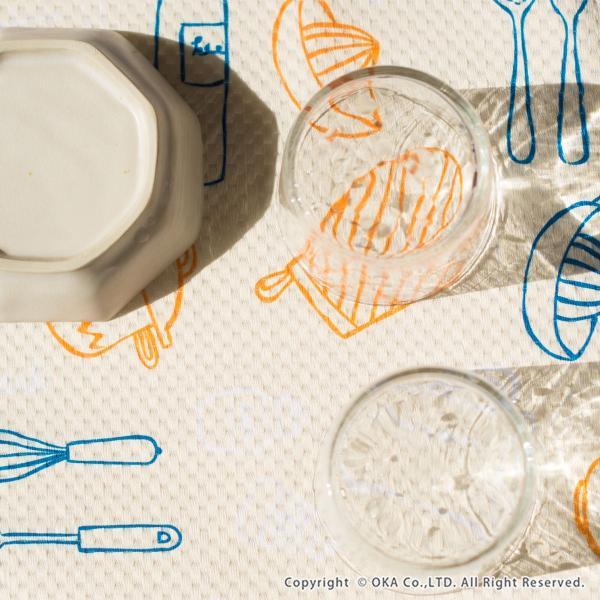 水切りマット (水切り吸水マット ドライングマット 食器 乾燥 乾かす おしゃれ 吸水 食器置き) オカ|m-rug|12
