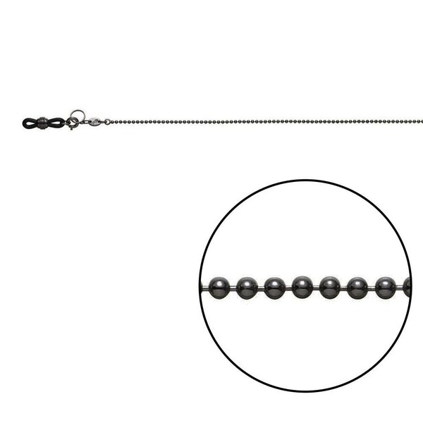 メガネチェーン CB-321 ボール φ1.5mm Z5461|m8y