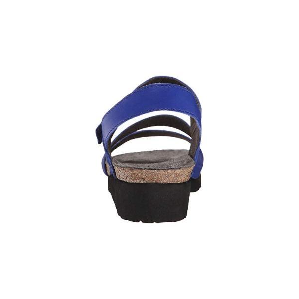Naot Naot Kayla レディース サンダル Royal Blue Leather