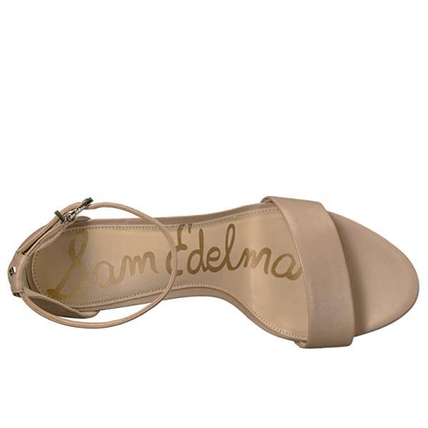サム エデルマン Sam Edelman Yaro Ankle Strap Sandal Heel レディース ヒール パンプス Classic Nude Leather