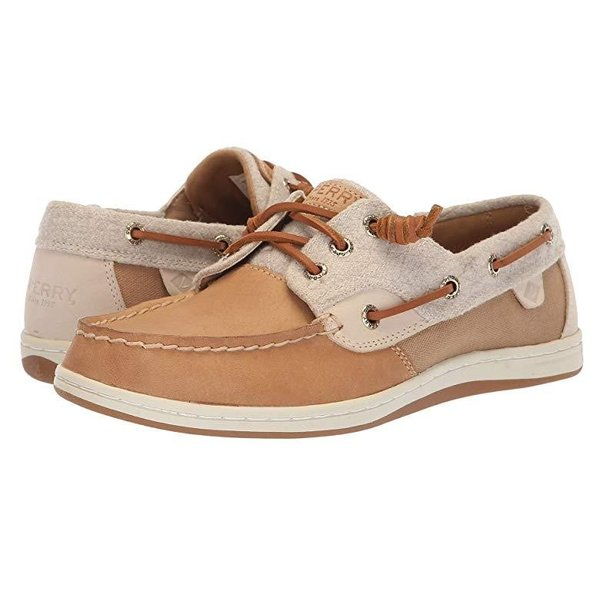 Sperry Sperry Songfish Wool レディース ボートシューズ デッキシューズ Linen