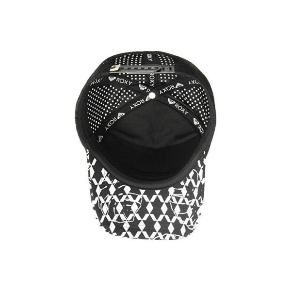ロキシー Roxy Waves Machine Trucker Hat レディース 帽子 Anthracite/Super Geo Palms Small