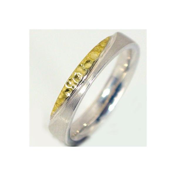 2bc3fe1e2c ... ホワイトゴールド イエローゴールド ペアリング 結婚指輪 マリッジリング ペア 2本セット K18wg K18yg ...