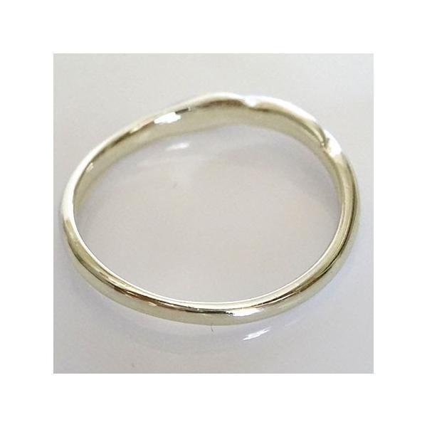 ペアリング イエローゴールドk10 ダイヤモンド 結婚指輪 マリッジリング 2本セット K10