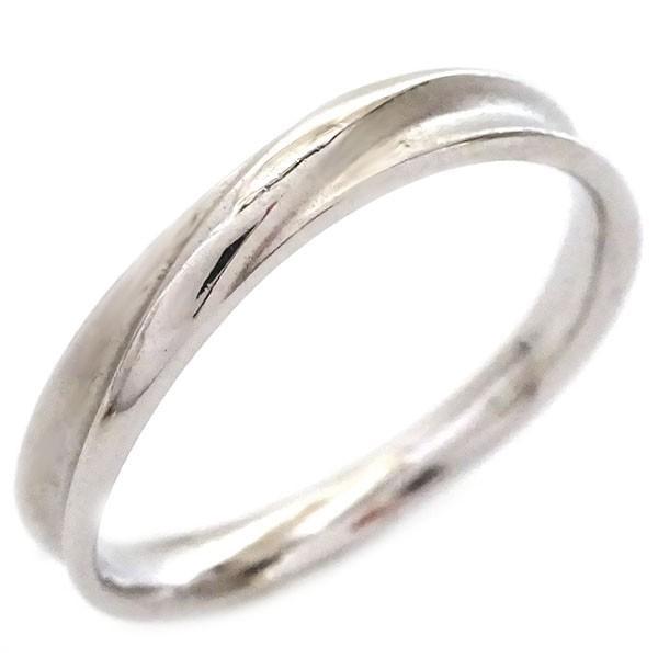ホワイトゴールド ダイヤモンド 結婚指輪 マリッジリング ペアリング ペア2本セット K18wg ダイヤ ストレート カップル