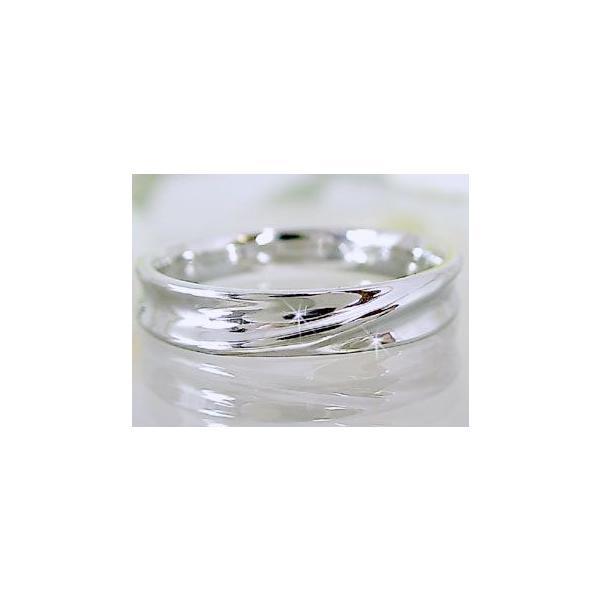 シルバー ペアリング 結婚指輪 マリッジリング 2本セット 天然 ダイヤモンド 0.02ct SV925 ストレート カップル|ma38|03