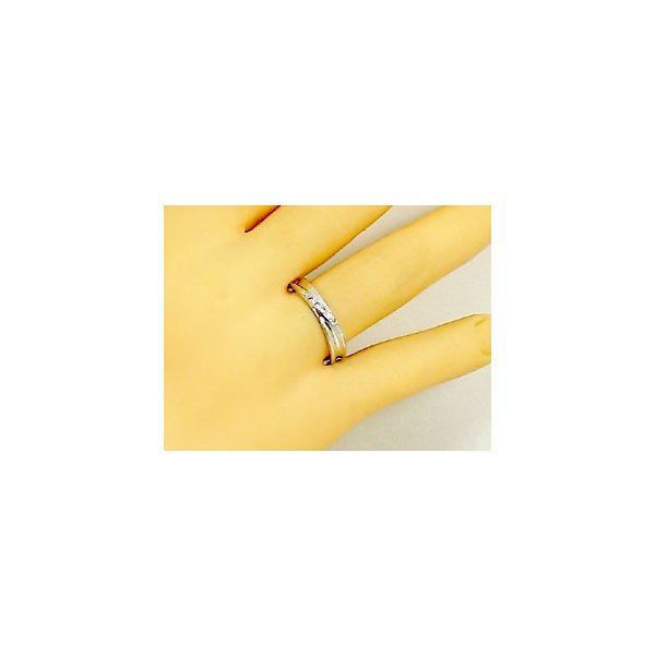 シルバー ペアリング 結婚指輪 マリッジリング 2本セット 天然 ダイヤモンド 0.02ct SV925 ストレート カップル|ma38|04