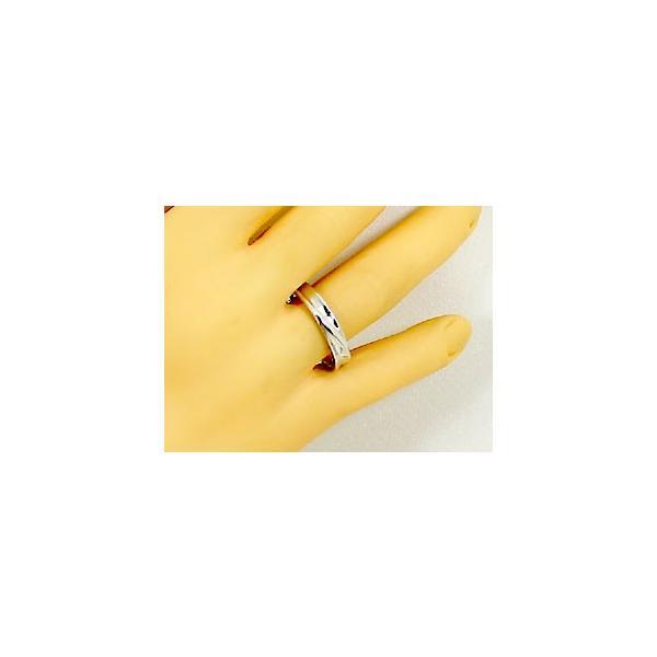 シルバー ペアリング 結婚指輪 マリッジリング 2本セット 天然 ダイヤモンド 0.02ct SV925 ストレート カップル|ma38|05
