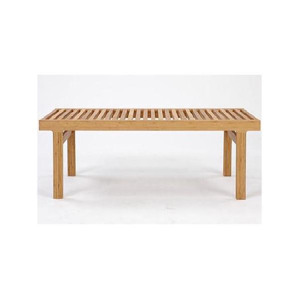 竹集成材のベンチ Tension bench TEORI|maaoyama
