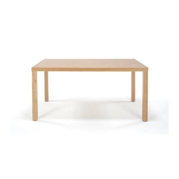 竹集成材のダイニングテーブル Kダイニングテーブル W900xD850xH700mm TEORI|maaoyama