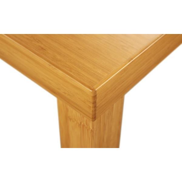 竹集成材のダイニングテーブル Kダイニングテーブル W1500xD850xH700mm TEORI|maaoyama|03