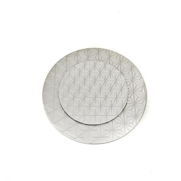 和柄のアルミプレート丸L 平皿17cm|maaoyama|06