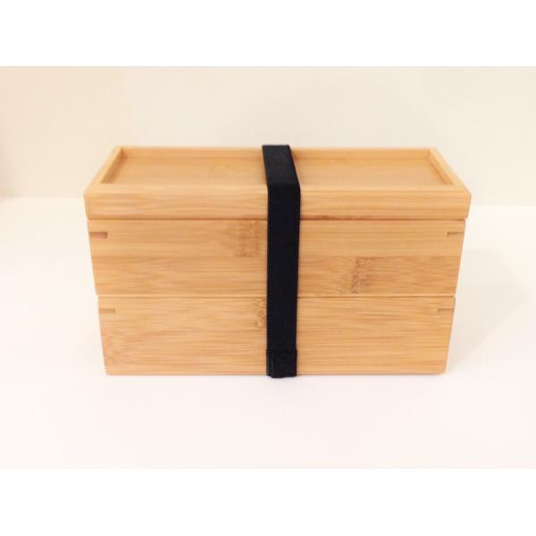 竹製2段弁当箱 中蓋付 S |maaoyama|05