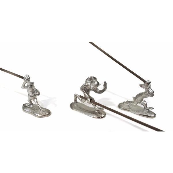 鳥獣戯画 鋳物の蛙の香立て Insence holder frog|maaoyama|05