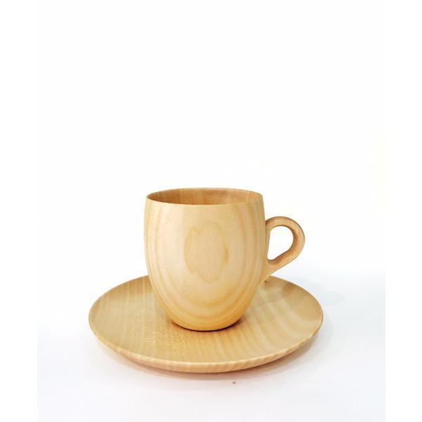 木製のソーサー Cara soucer 直径15cm 高橋工芸 maaoyama 04