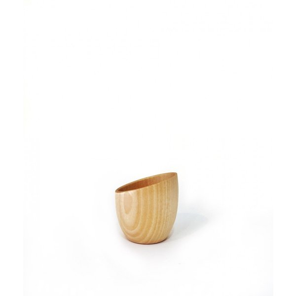 木製のミルクピッチャー Cara milk server 高橋工芸|maaoyama