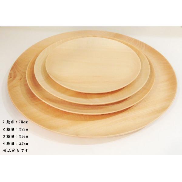 木のお皿 Cara plate18cm 高橋工芸 maaoyama