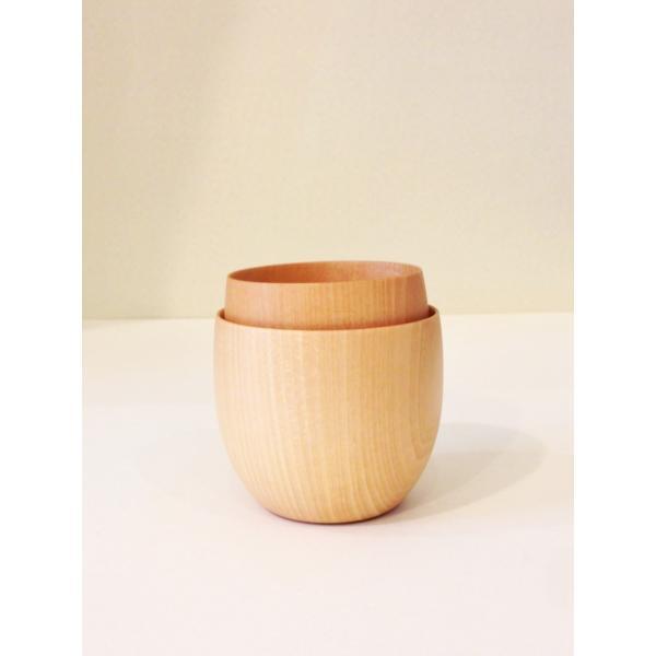 木のコップ Cara cup M 高橋工芸|maaoyama|05