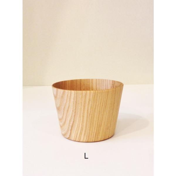 木のコップ KAMI Free glass L 高橋工芸|maaoyama