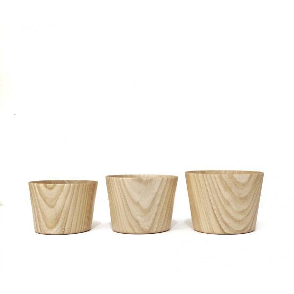 木のコップ KAMI Free glass L 高橋工芸|maaoyama|02
